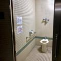 修繕が終わっていた桃花台中央公園のトイレ - 2