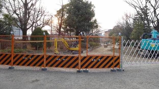 整備工事中の鶴舞公園(2018年2月24日) - 1