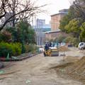 整備工事中の鶴舞公園(2018年2月24日) - 2