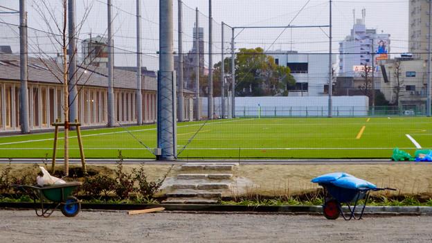 陸上競技場跡に整備中の「テラスポ鶴舞(鶴舞公園スポーツコミュニティセンター)」 - 8