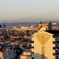 写真: 県営岩崎住宅(岩崎団地)から見えた、雪を戴く御嶽山 - 3
