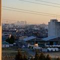 県営岩崎住宅(岩崎団地)から見た名駅ビル群 - 1