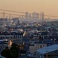 県営岩崎住宅(岩崎団地)から見た名駅ビル群 - 2