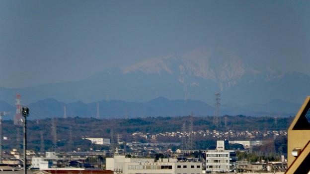 県営岩崎住宅から見た御嶽山(2018年3月12日) - 6