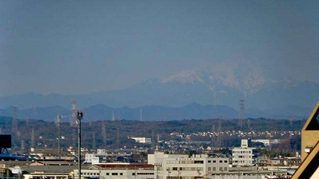 県営岩崎住宅から見た御嶽山(2018年3月12日) - 8