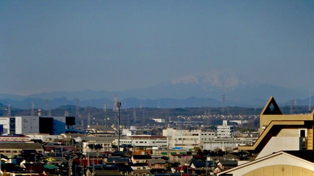 県営岩崎住宅から見た御嶽山(2018年3月12日) - 9