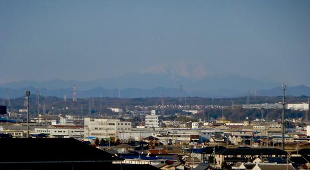 県営岩崎住宅から見た御嶽山(2018年3月12日) - 11