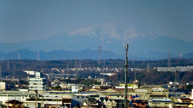 県営岩崎住宅から見た御嶽山(2018年3月12日) - 14