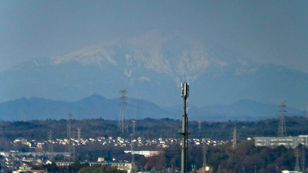 県営岩崎住宅から見た御嶽山(2018年3月12日) - 15