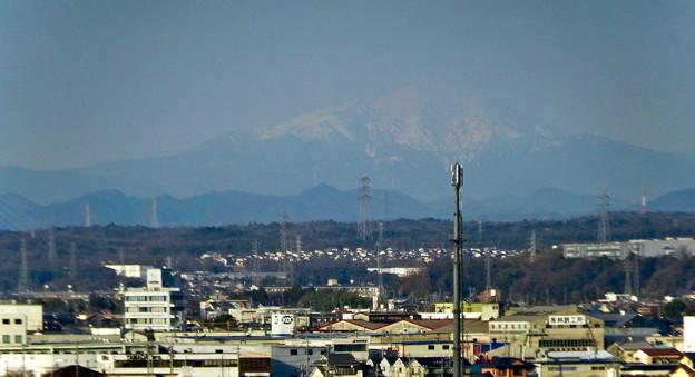 県営岩崎住宅から見た御嶽山(2018年3月12日) - 16