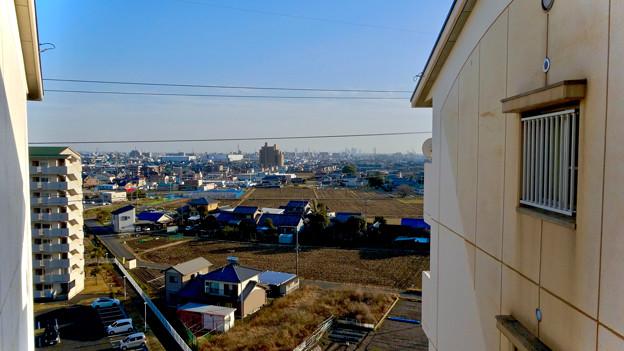 県営岩崎住宅から見た名駅ビル群 - 4