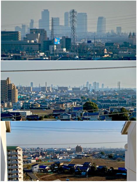 県営岩崎住宅から見た名駅ビル群 - 9