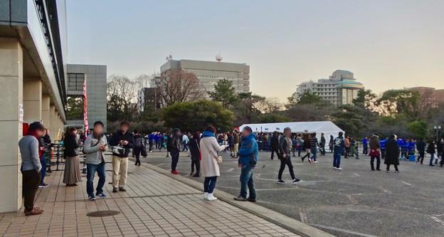 プロレス興行で沢山の人がいた愛知県体育館 - 1