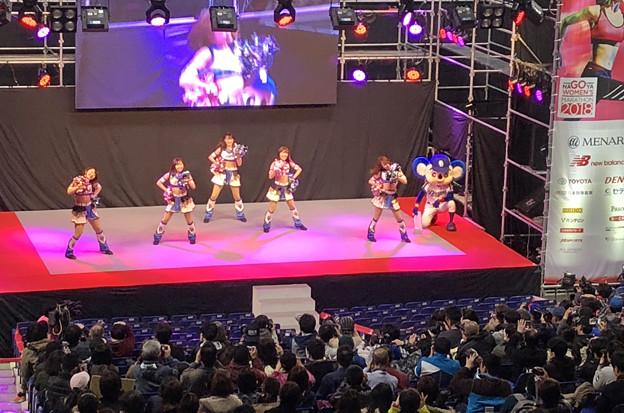 マラソン EXPO 2018 No - 13:ステージにドアラ