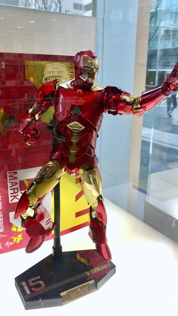 名古屋市科学館「マーベル展」 - 10:アイアンマンのフィギュア