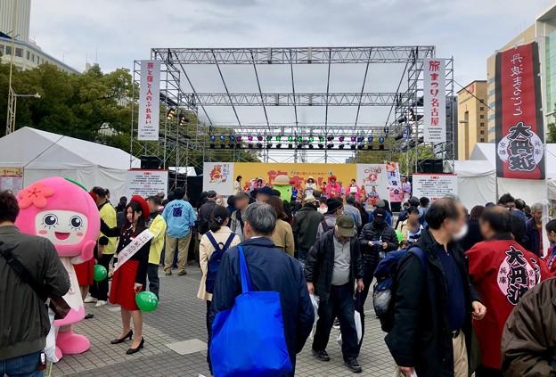 旅まつり名古屋 2018 No - 20:大勢の人で賑わう会場