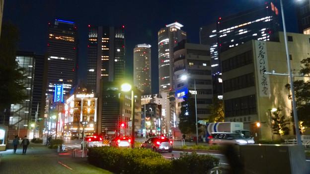 名古屋駅の北東側から見た夜の名駅ビル群 - 5