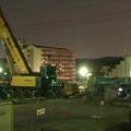 写真: 桃花台線の桃花台中央公園南側撤去工事(2018年3月29日) - 2