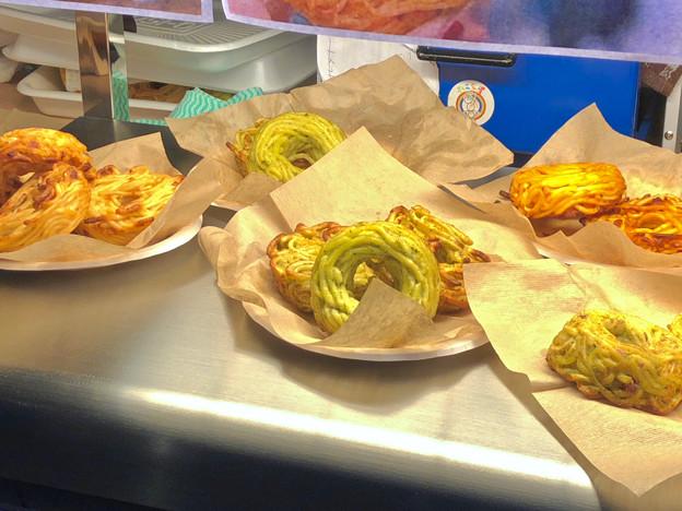 写真: 円頓寺商店街「クラブ円頓寺」で売ってたパスタドーナツ - 2