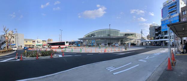 まだかなり工事してたJR春日井駅前(2018年3月31日) - 2:パノラマ