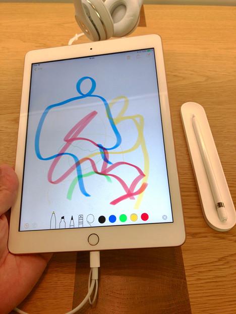 Apple Pencilが使えるようになったiPad 9.7インチ - 1