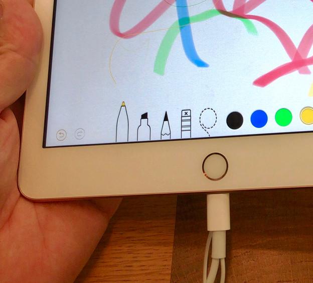 Apple Pencilが使えるようになったiPad 9.7インチ - 2