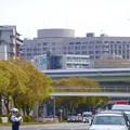名古屋高速越しに見えた名大病院 - 2