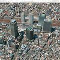 macOS High Sierraのマップアプリ:地図更新で名駅ビル群が実際と同じ数に! - 1