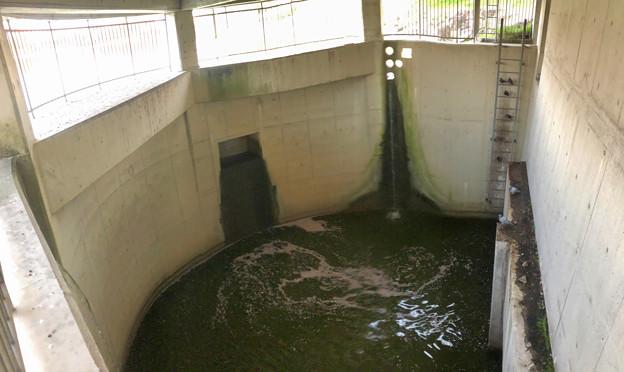落合公園:生地川へと水を流す…ための施設? - 2(パノラマ)