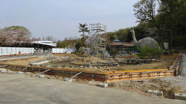 改装工事中の古代池 - 4