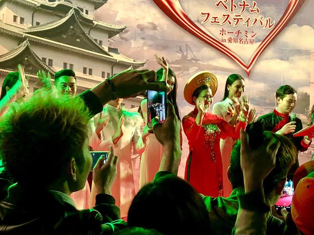 ベトナムフェスティバル ホーチミン in 愛知名古屋 2018 No - 59:1日目ラストで盛り上がる人たち