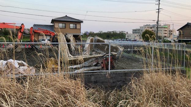 落合公園近くの中華料理屋の建物が解体 - 4