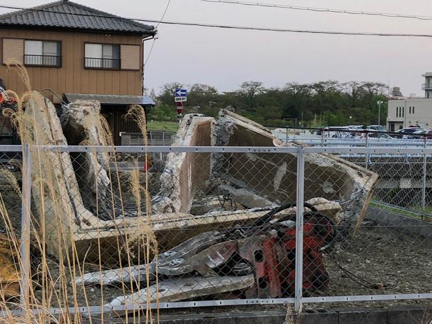 落合公園近くの中華料理屋の建物が解体 - 5