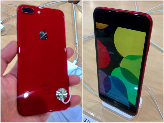 iPhone 8 Plus REDモデル - 1