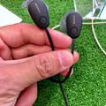 写真: ソニーの無線ノイキャン機能付きイヤホン「WI-SP600N」 - 1