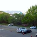 写真: 愛知県体育館2階から見た名古屋城天守閣 - 1