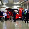 写真: 名古屋駅コンコースで展示されてたTesla「Model S」 - 1