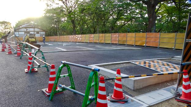 金シャチ横丁「義直ゾーン」 - 30:近日オープン予定のビアガーデン「金シャチ海鮮市場」の建設予定地?
