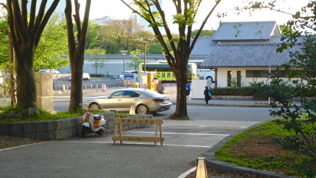 写真: 金シャチ横丁「義直ゾーン」 - 36:駐車場との間にある道路