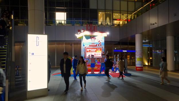 ゲートタワーオープン1周年記念で行われた「ウォーリーをさがせ」関連企画 - 2
