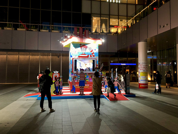 ゲートタワーオープン1周年記念で行われた「ウォーリーをさがせ」関連企画 - 4