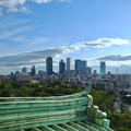 名古屋城天守閣から見た名駅ビル群 - 1