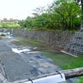 補修工事中の名古屋城のお堀 - 1