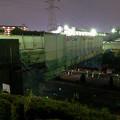 桃花台線の旧車両基地進入高架撤去工事(2018年4月26日) - 14:通行止めの準備進む