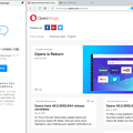 Photos: Opera 45 Reborn No - 31:サイドバーのFB Messengerを固定