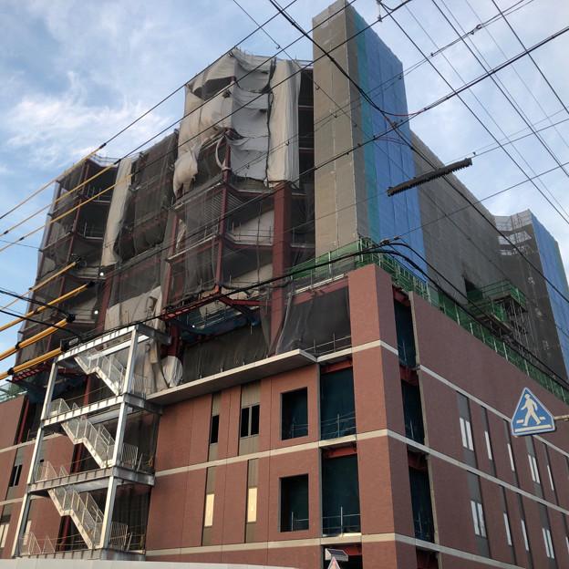 建設工事中の小牧市民病院の新しい建物(2018年4月26日) - 10