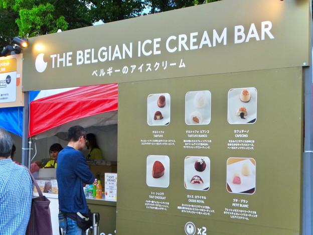 ベルギービールウィークエンド 2018 No - 20:ベルギーアイスの販売ブース