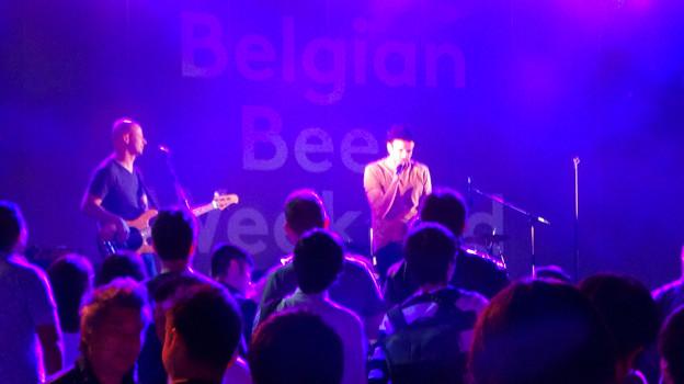 ベルギービールウィークエンド 2018 No - 37:夜のライブステージ