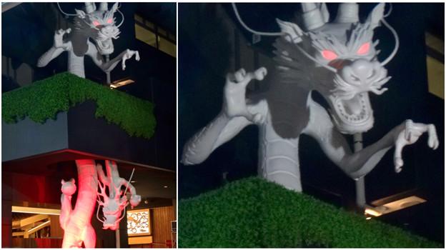 写真: 大須万松寺:龍の像に様々なエフェクト!? - 9(目が紅く光る)