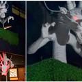 Photos: 大須万松寺:龍の像に様々なエフェクト!? - 9(目が紅く光る)